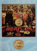 The Beatles - 'Sgt Peppers' Postcard